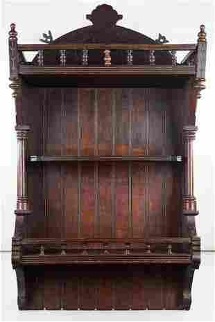 Ornate Victorian Wall Shelf