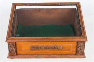 Hickok Wooden Belt Buckle Display, Early 20th C