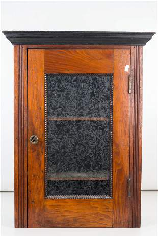 Hanging Spice Cabinet, 19th C