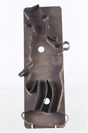 Large Uncle Sam Cookie Cutter, Early 20th C