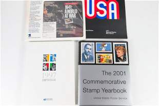 Commemorative Hard Back and Other US Stamps Sets