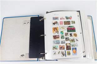 Vintage International Stamp Album
