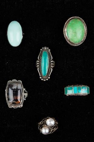 Sterling Vintage Rings