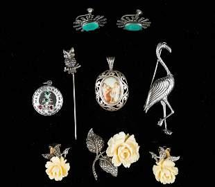 Vintage Sterling Estate Jewelry