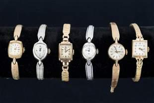 Vintage Hamilton Estate Watches
