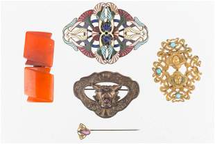 Art Nouveau Buckle Collection