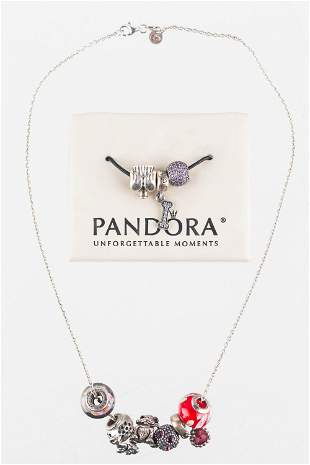 Sterling Pandora and Other Charms