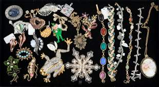 Brooches and Bracelets