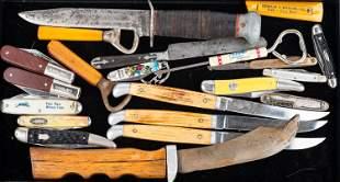 Advertising Sheath Knives