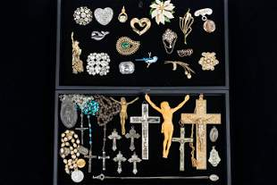 Religious and Costume Jewelry