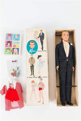 1960 Ken Doll in Box with Accessories