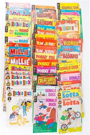 Mixed Vintage Comics 15c