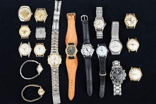 Ladies and Men Wristwatch Collection