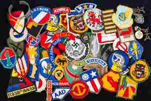 Military Patches and Lapel Pins