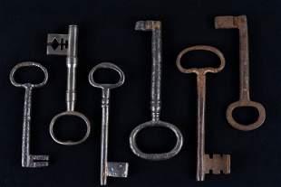 Long Dower Chest Keys
