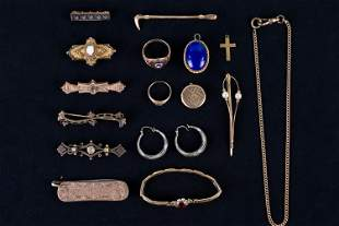 Victorian and Gold Filled Jewelry