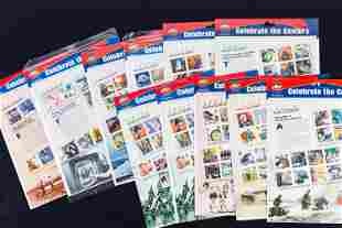 Celebrate the Century US Postage Stamp Collection