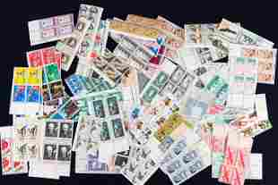 US Airmail and Other Postage Stamp Sheets