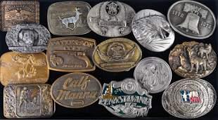 Remington, Smith & Wesson Belt Buckles