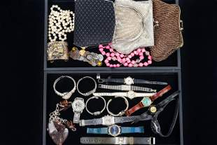 Watches and Designer Style Purses