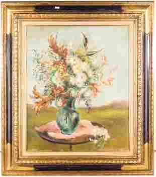 Still Life, Oil on Canvas Signed A.T. Hehenbosh