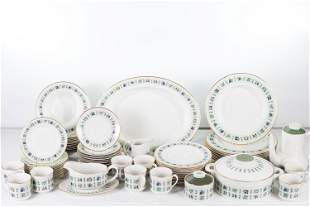 Royal Doulton Tapestry Pattern Dinnerware Service