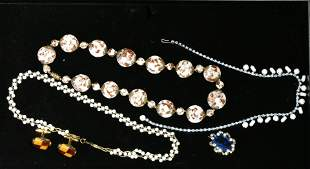 Necklaces, Rhinestone and Beaded Jewelry