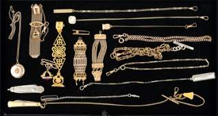 Gold Filled Fobs and Related Items