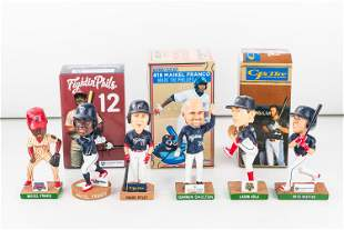 6 Reading PA Fightin Phils (AA) Bobbleheads