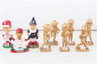 6 Golden Reading Phillies (AAA) Bobbleheads