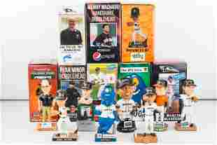 Delmarva Shorebirds and Norfolk Tides Bobbleheads