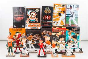 Frederick Keys and Bowie Baysox Bobbleheads