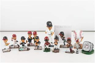 Mini Altoona Curve (AA) Bobbleheads and 3 Others