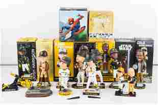 Pittsburgh Pirates Bobbleheads and Field Figure