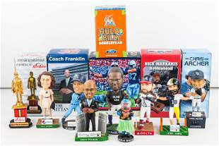 MLB, NFL, College, and Minor League Bobbleheads