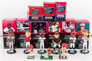 Harrisburg Senators HOF Bobbleheads and Minis