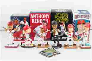 Harrisburg Senators HOF Bobbleheads, Mini Stadium