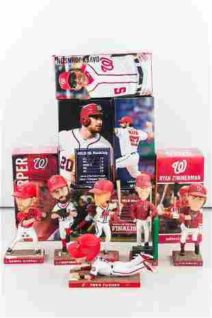 All 6 Washington Nationals 2017 Bobbleheads