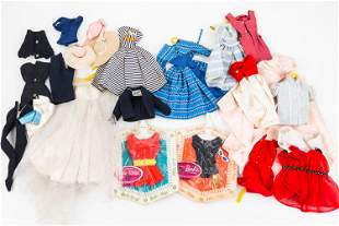 Barbie Fashion Packs and Loose Vintage Clothing