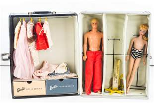 1958 Barbie in Case with Accessories