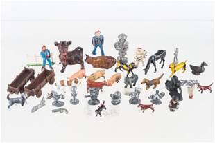 Collection of Mixed Metal Figures