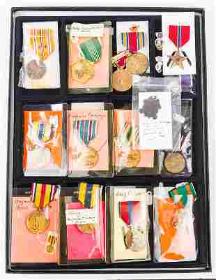 Military Pins and Ribbons