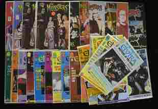 Elvira and the Munsters Comic Books (30 total)