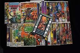 Conan the Barbarian Comic Books (36 total)