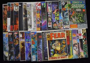 Collection of Classic Horror Comic Books
