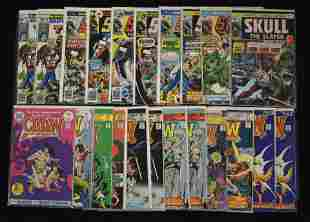 Claw and Skull Comic Books (22 total)