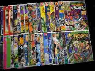 Collection of Fantasy Comic Books