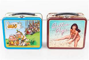 Dark Horse Comics Lunch Boxes (2), Betty Page