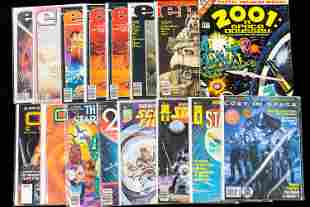 Space Related Comics / Marvel