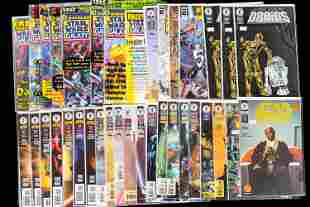 Star Wars Related Comics (1 COA) and Magazines